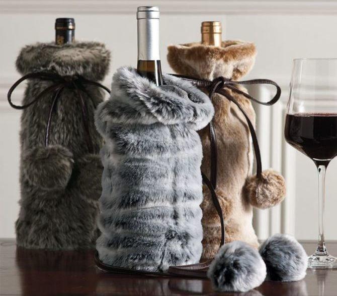 Как украсить бутылку шампанского на Новый год: 5+ интересных идей 15