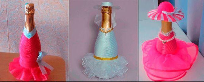Как украсить бутылку шампанского на Новый год: 5+ интересных идей 11