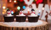 Капкейки на Новый 2021 год: вкусные рецепты, идеи украшения на фото, видео