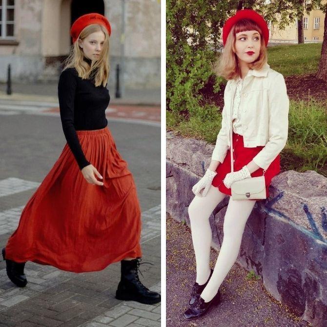 Красные юбки — с чем сочетать, чтобы выглядеть красиво 6