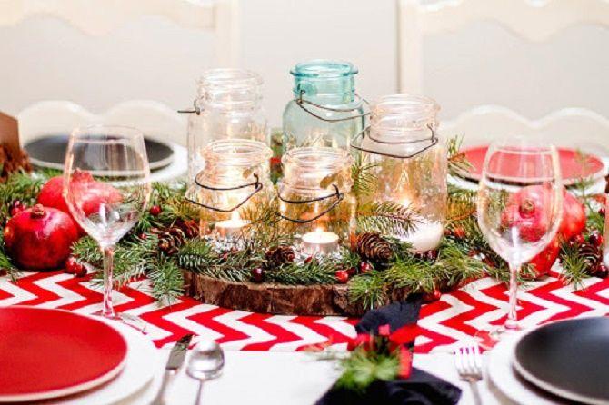 Як прикрасити новорічний стіл: кращі ідеї декору для зустрічі 2021 року 1