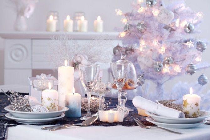 Як прикрасити новорічний стіл: кращі ідеї декору для зустрічі 2021 року 11