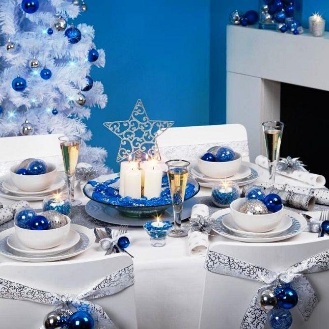 Як прикрасити новорічний стіл: кращі ідеї декору для зустрічі 2021 року 13
