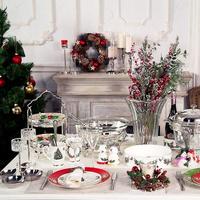 Як прикрасити новорічний стіл: кращі ідеї декору для зустрічі 2021 року 22