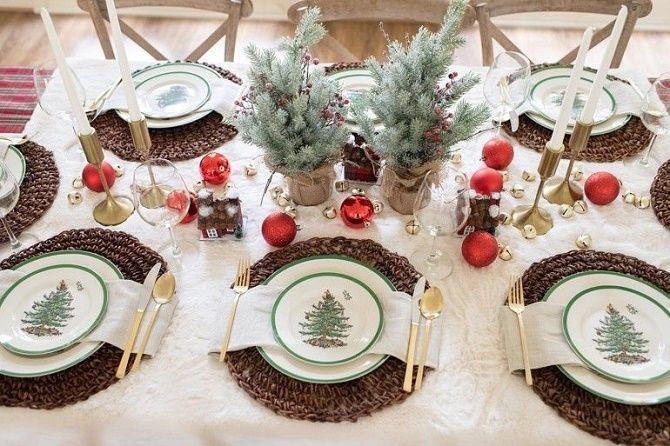 Як прикрасити новорічний стіл: кращі ідеї декору для зустрічі 2021 року 23