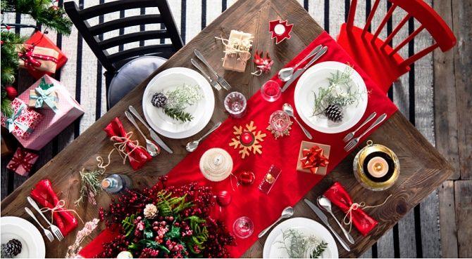 Як прикрасити новорічний стіл: кращі ідеї декору для зустрічі 2021 року 27