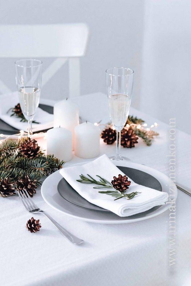 Як прикрасити новорічний стіл: кращі ідеї декору для зустрічі 2021 року 29