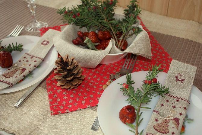 Як прикрасити новорічний стіл: кращі ідеї декору для зустрічі 2021 року 4
