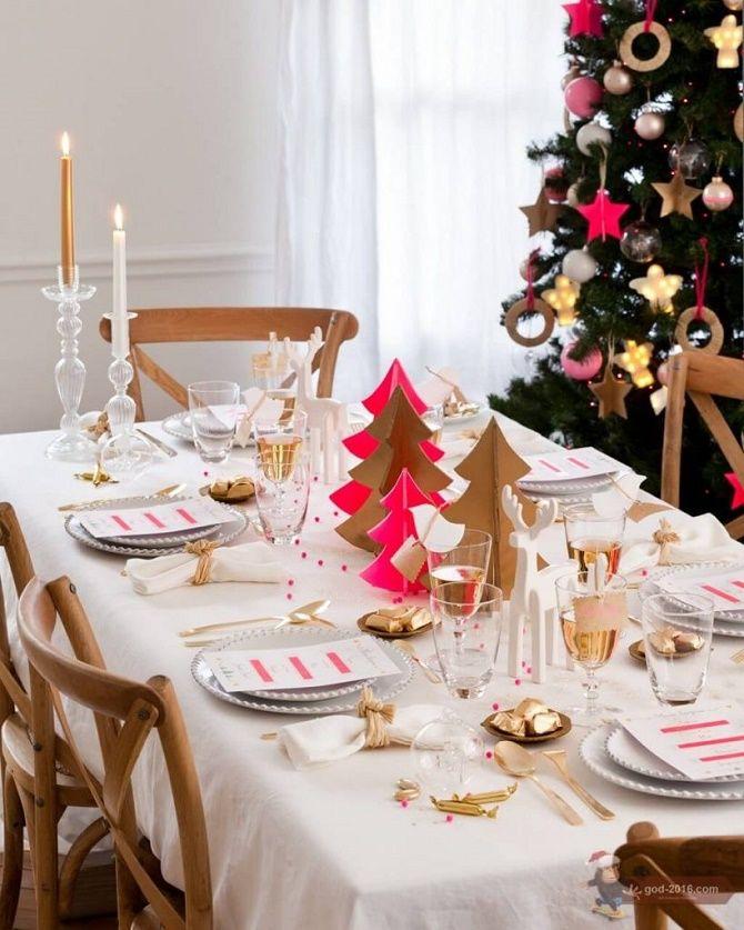 Як прикрасити новорічний стіл: кращі ідеї декору для зустрічі 2021 року 7