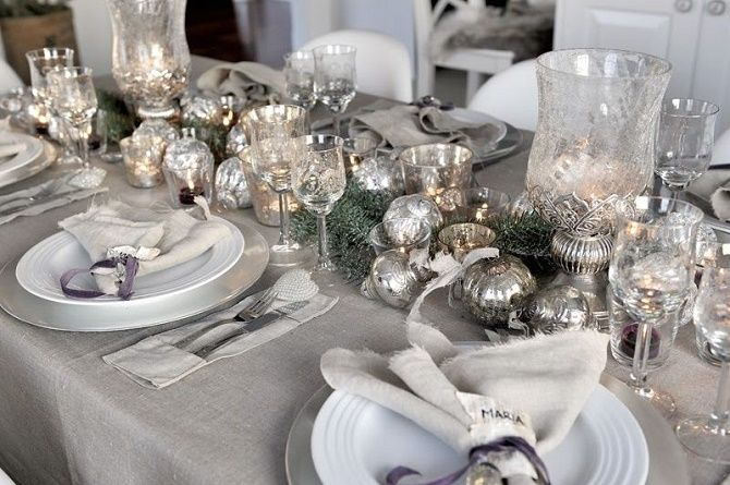 Як прикрасити новорічний стіл: кращі ідеї декору для зустрічі 2021 року 9