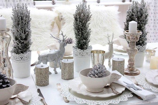 Як прикрасити новорічний стіл: кращі ідеї декору для зустрічі 2021 року 10