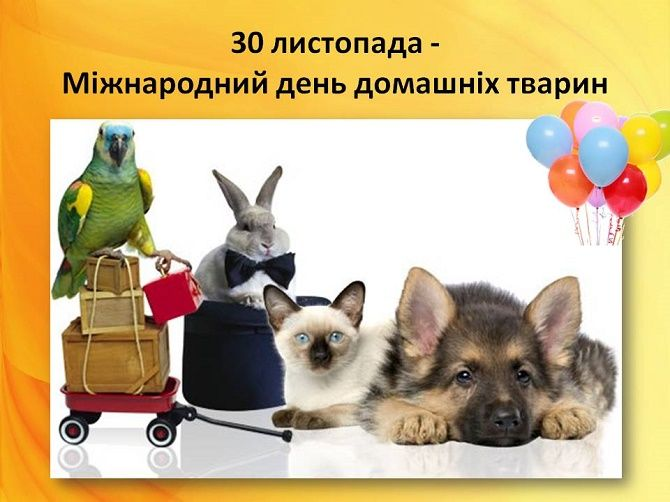 Всесвітній день домашніх тварин – красиві привітання 1
