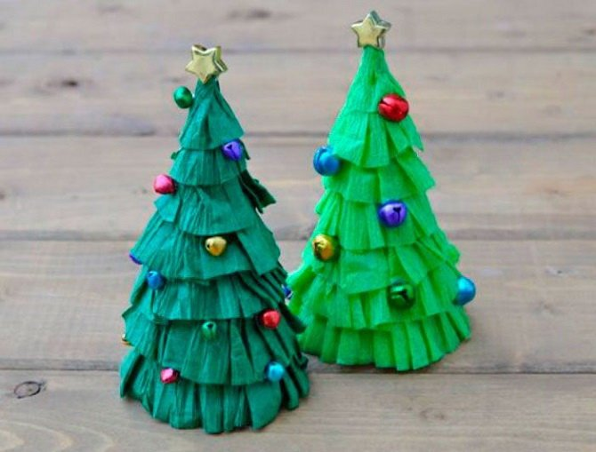 Необычная елка из бумаги своими руками на Новый год 2021: лучшие идеи 5