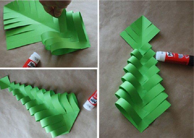 Необычная елка из бумаги своими руками на Новый год 2021: лучшие идеи 21
