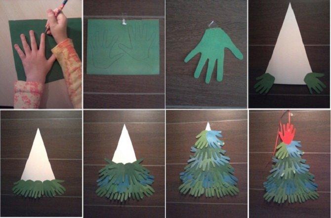 Необычная елка из бумаги своими руками на Новый год 2021: лучшие идеи 26
