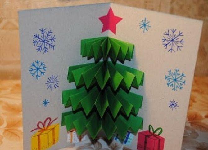 Необычная елка из бумаги своими руками на Новый год 2021: лучшие идеи 38