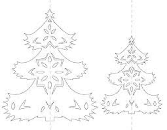 Необычная елка из бумаги своими руками на Новый год 2021: лучшие идеи 39