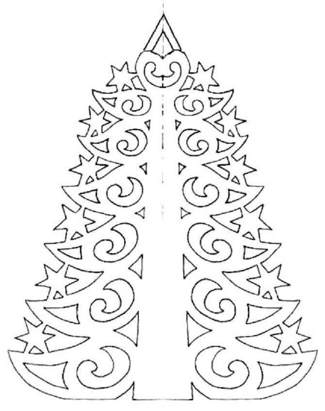 Необычная елка из бумаги своими руками на Новый год 2021: лучшие идеи 42