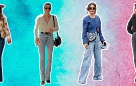 Как удлинить ноги с помощью джинсов — модные приемы