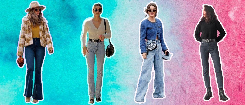 Як подовжити ноги за допомогою джинсів – модні прийоми