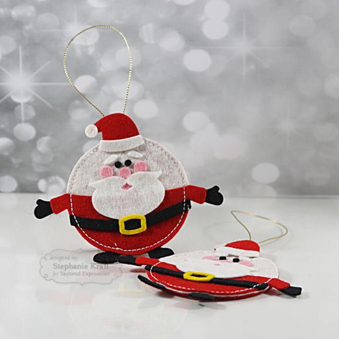 Новогодняя фетромания: елочные игрушки из фетра своими руками 32