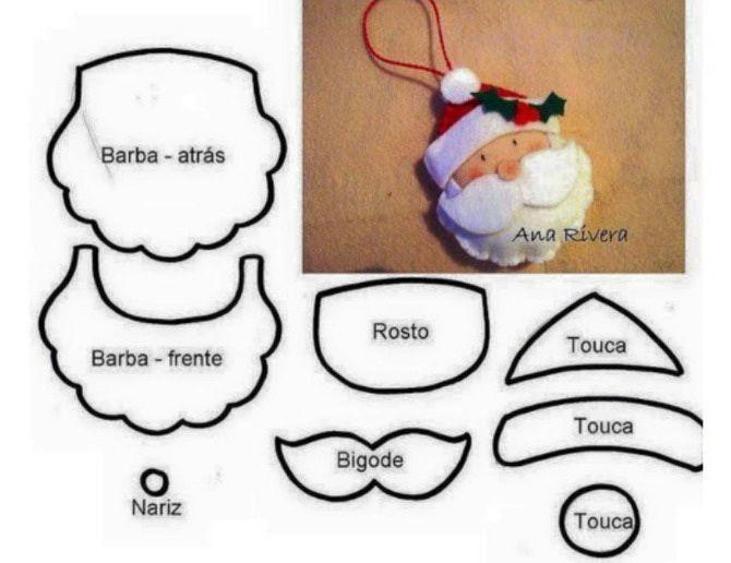Новогодняя фетромания: елочные игрушки из фетра своими руками 4