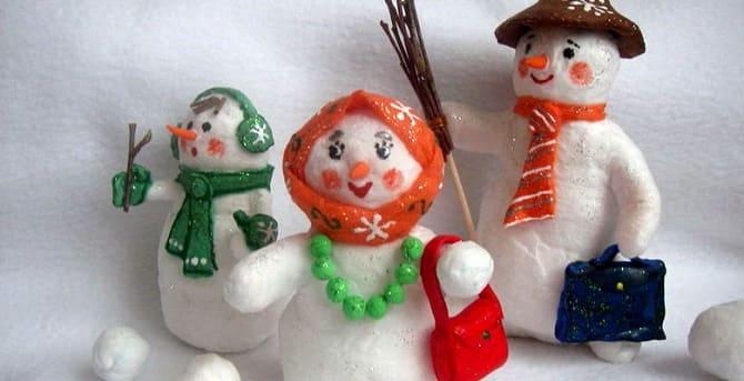 Создаем елочные игрушки из ваты: крутые новогодние поделки 2