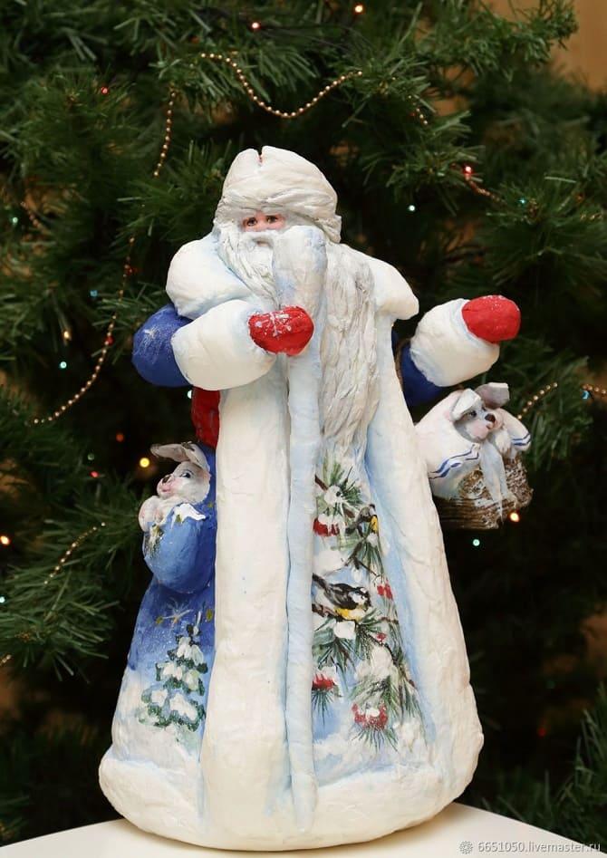Создаем елочные игрушки из ваты: крутые новогодние поделки 14