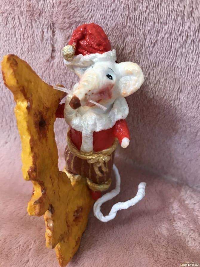 Создаем елочные игрушки из ваты: крутые новогодние поделки 19