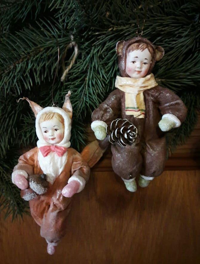 Создаем елочные игрушки из ваты: крутые новогодние поделки 5
