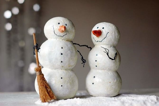 Создаем елочные игрушки из ваты: крутые новогодние поделки 11