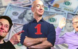 Оголошено п'ятірку найбагатших людей планети: Білл Гейтс вже не той
