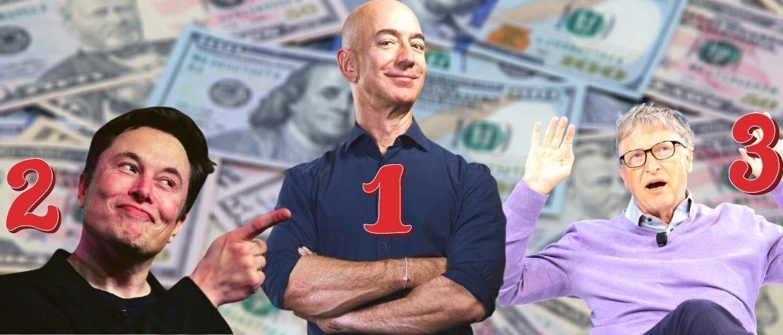 Названа пятерка богатейших людей планеты: Билл Гейтс уже не тот