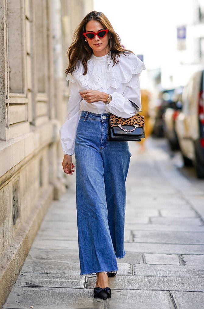 Як подовжити ноги за допомогою джинсів – модні прийоми 13