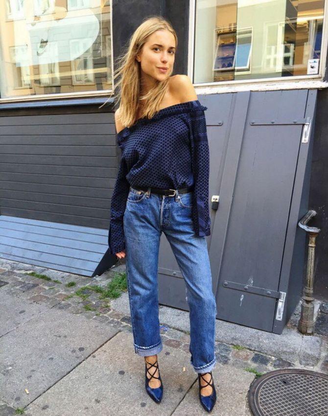 Як подовжити ноги за допомогою джинсів – модні прийоми 16