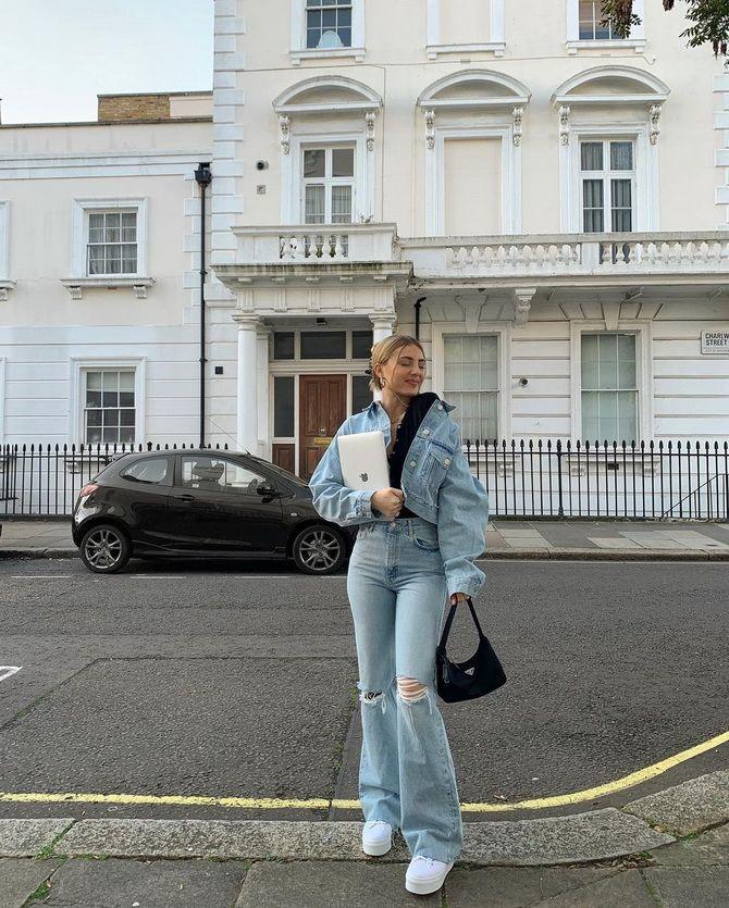 Як подовжити ноги за допомогою джинсів – модні прийоми 19