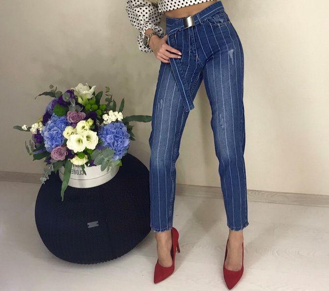 Як подовжити ноги за допомогою джинсів – модні прийоми 20