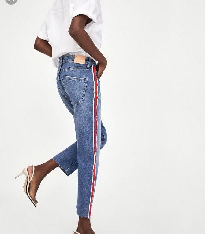 Як подовжити ноги за допомогою джинсів – модні прийоми 23