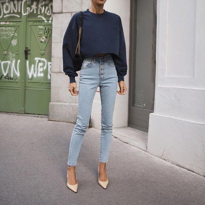 Як подовжити ноги за допомогою джинсів – модні прийоми 28