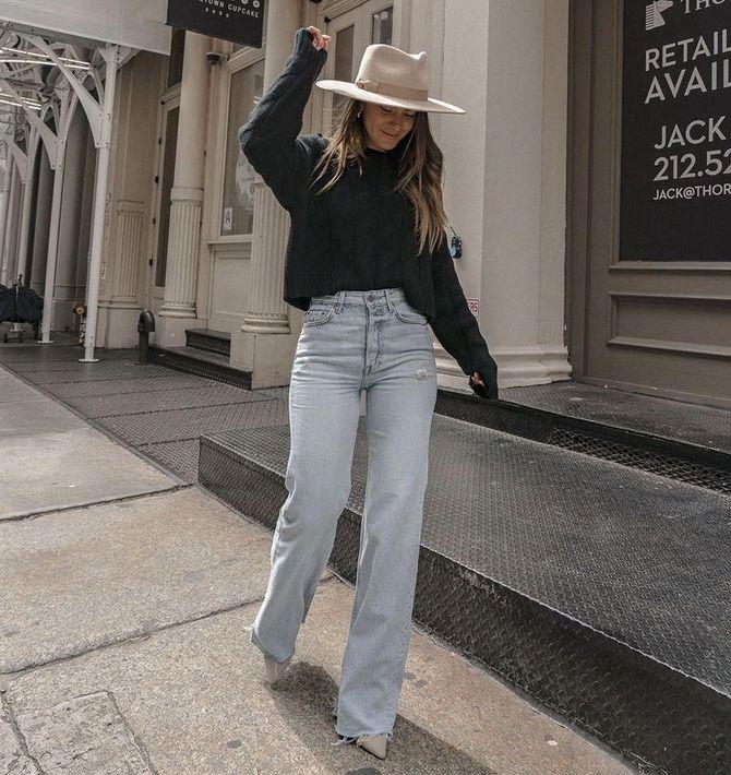 Як подовжити ноги за допомогою джинсів – модні прийоми 29