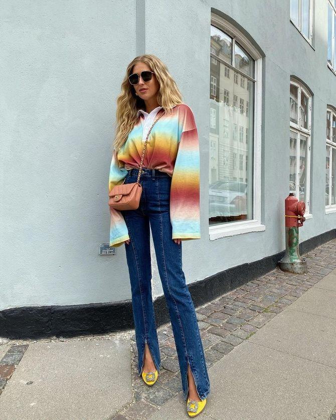 Як подовжити ноги за допомогою джинсів – модні прийоми 1
