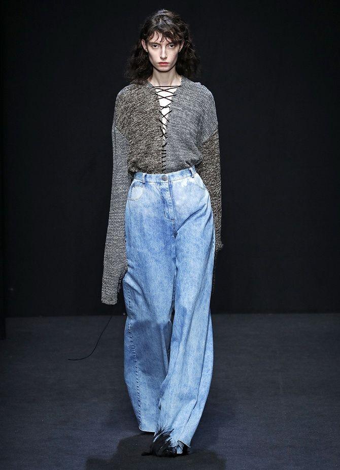 Як подовжити ноги за допомогою джинсів – модні прийоми 10