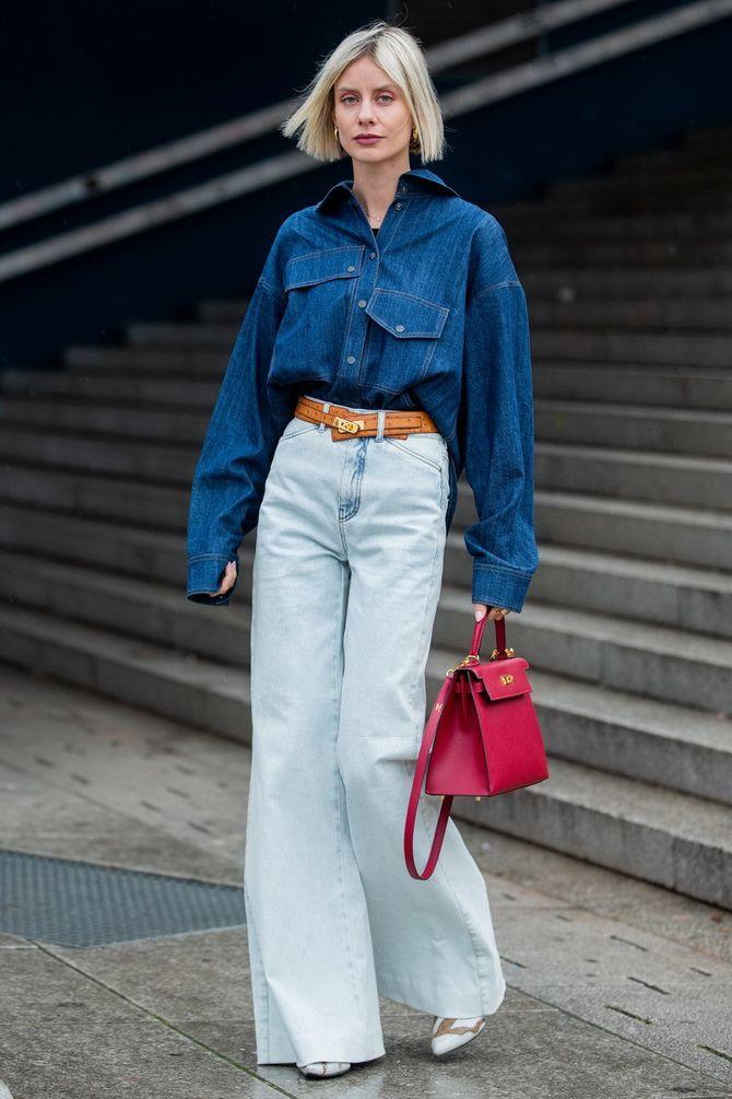 Як подовжити ноги за допомогою джинсів – модні прийоми 12