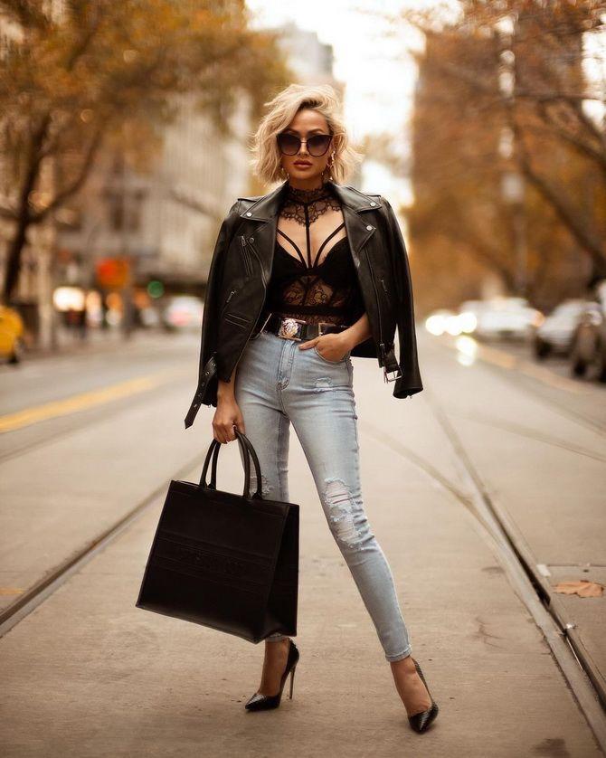 Як подовжити ноги за допомогою джинсів – модні прийоми 7