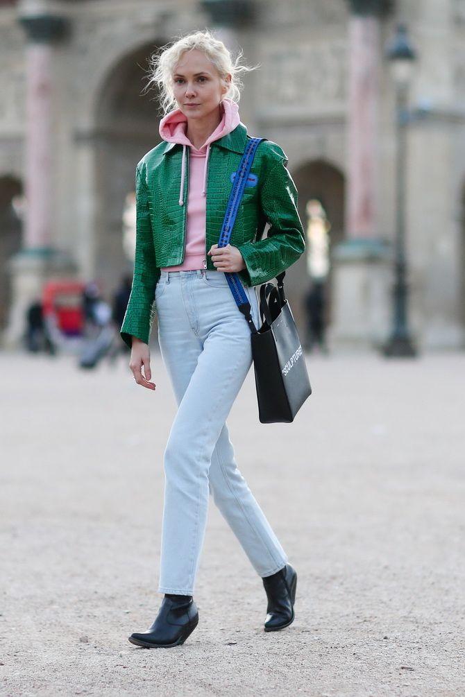 Як подовжити ноги за допомогою джинсів – модні прийоми 9