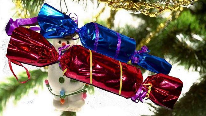 Як зробити цукерку на Новий рік своїми руками: креативні ідеї виробів з фото 1