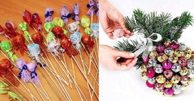 Як зробити цукерку на Новий рік своїми руками: креативні ідеї виробів з фото 3