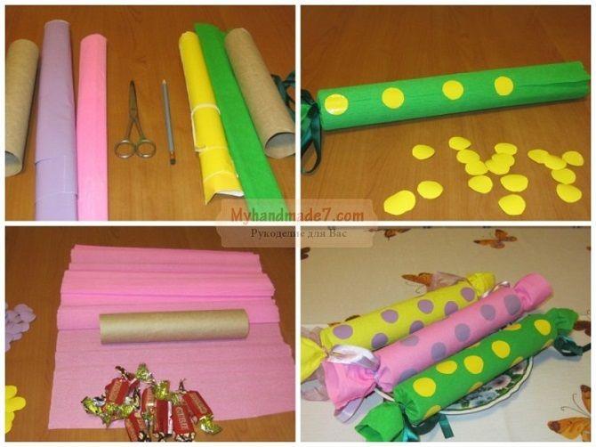 Як зробити цукерку на Новий рік своїми руками: креативні ідеї виробів з фото 24