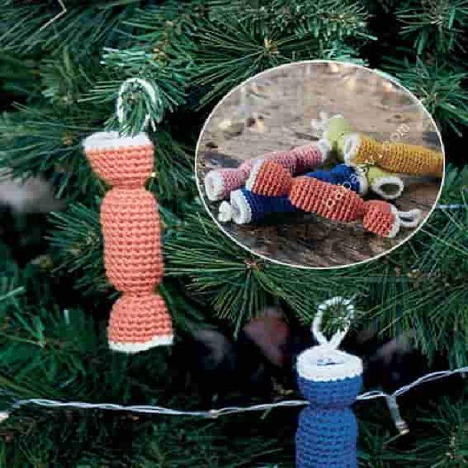 Як зробити цукерку на Новий рік своїми руками: креативні ідеї виробів з фото 35