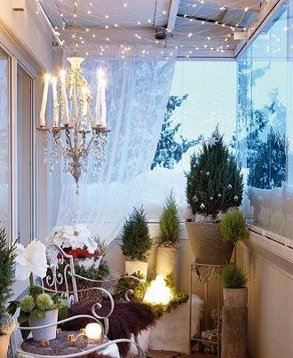 Крутые идеи, как украсить балкон на Новый год 2021 16
